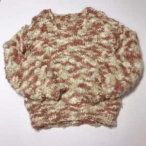 Tularosa Brooklyn Chunky Comfy Knit Sweater Rose S